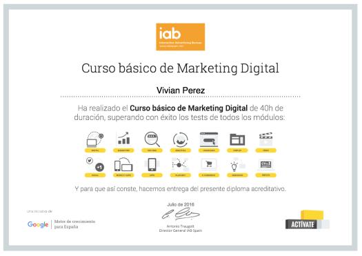 Curso básico de Marketing Digital